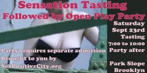 Sensation Tasting Party
